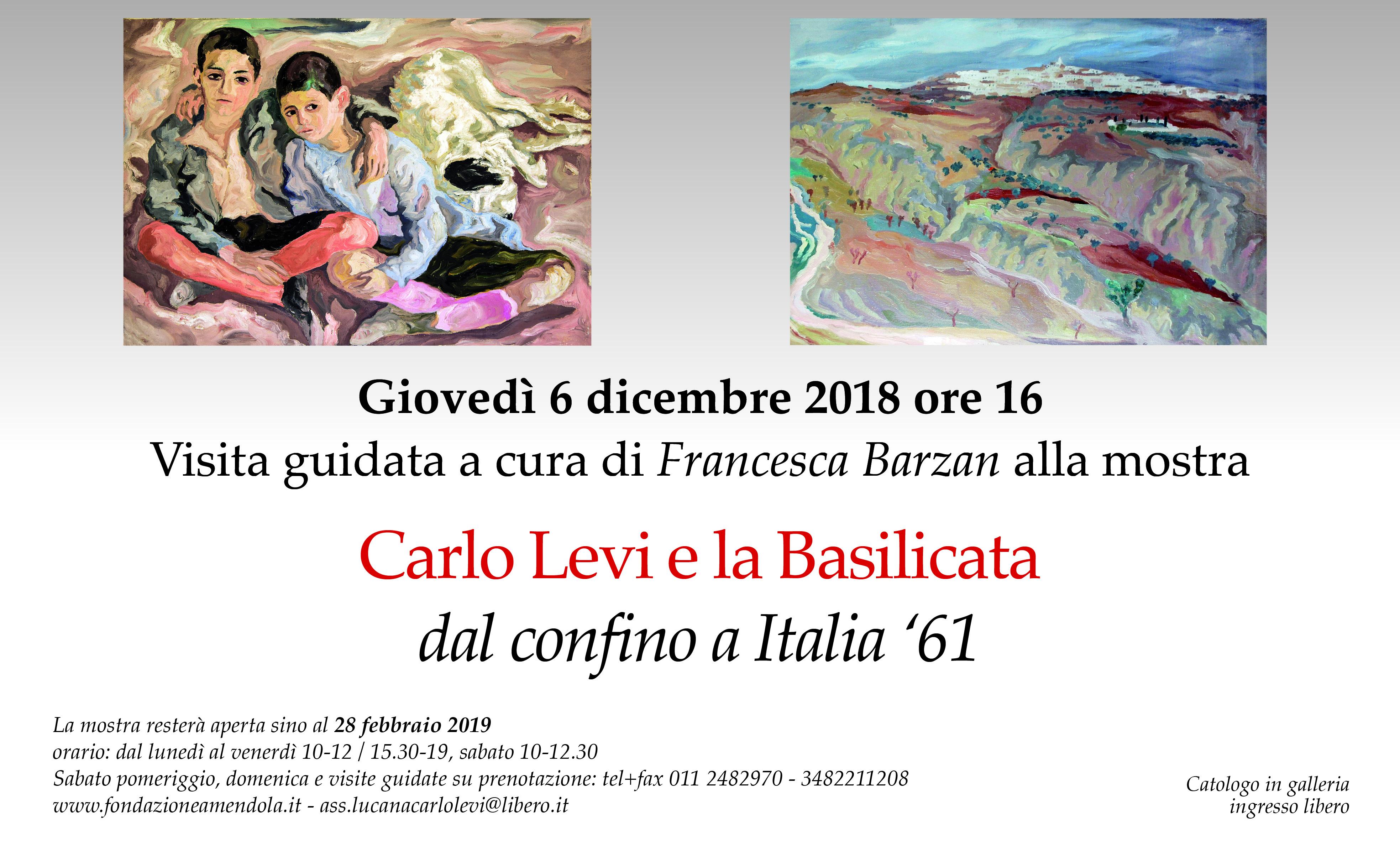 Visita Guidata Alla Mostra Carlo Levi E La Basilicata Dal Confino A Italia '61