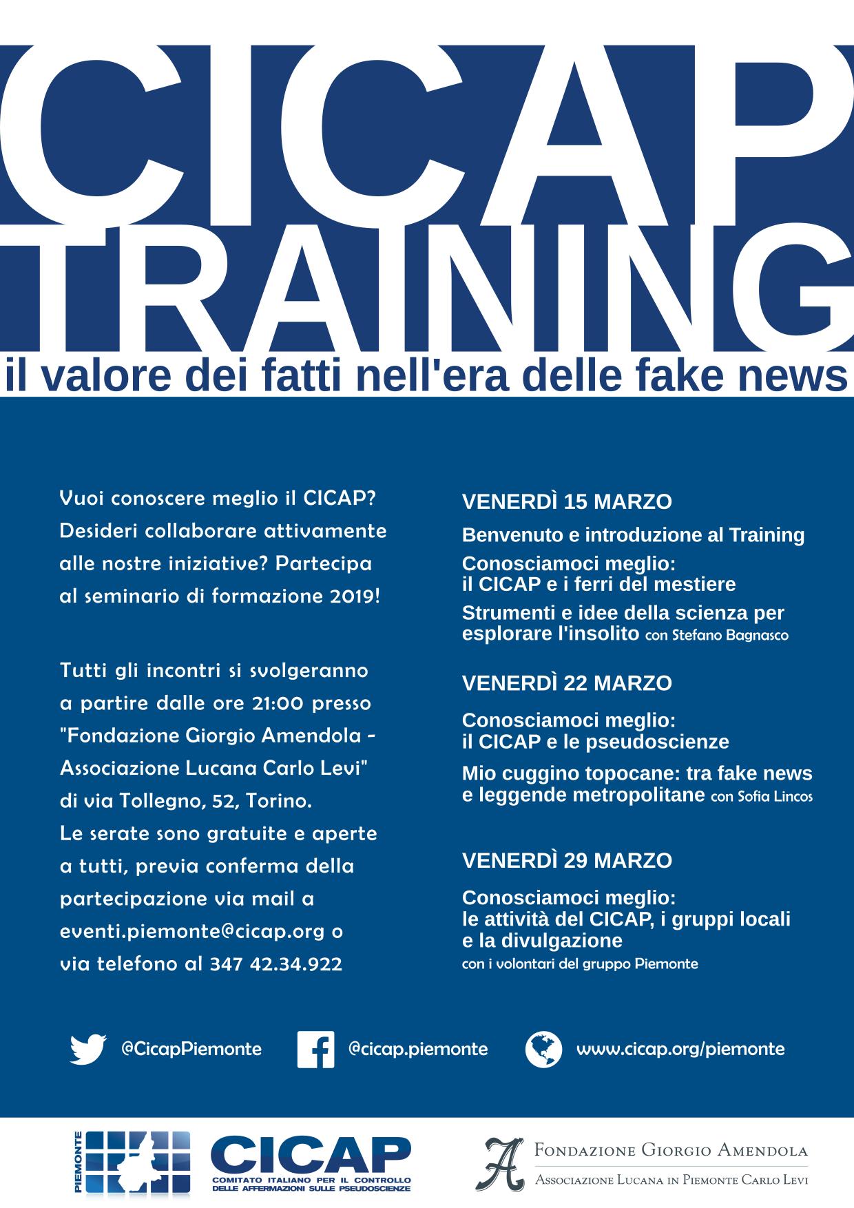 Il Valore Dei Fatti Nell'era Delle Fake News – Training CICAP
