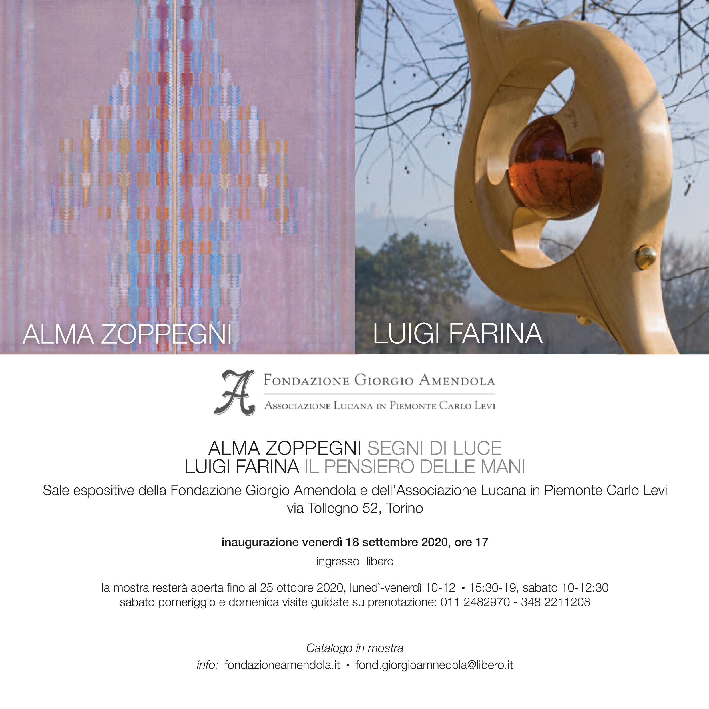 Mostra D'arte: Alma Zoppegni E Luigi Farina