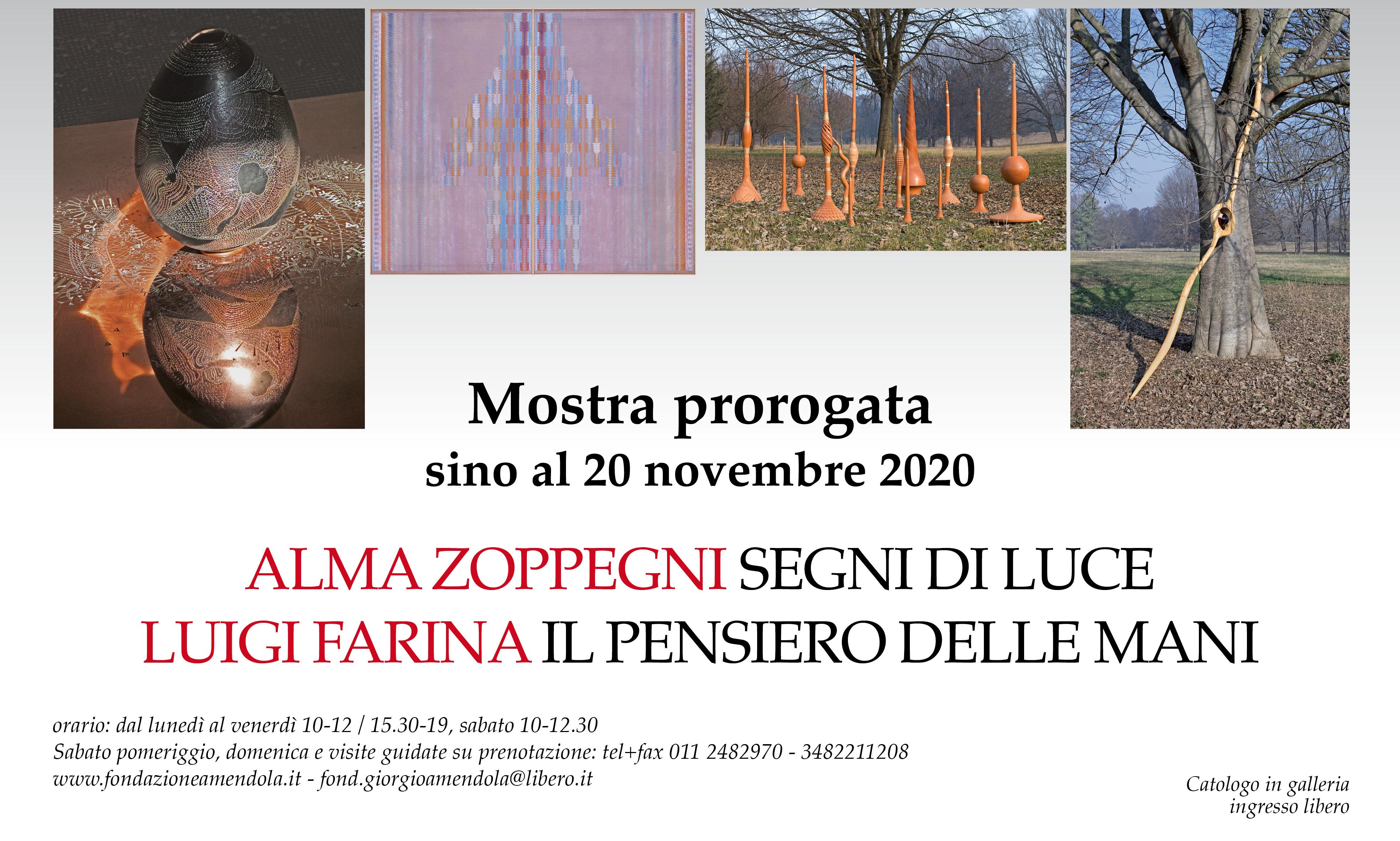 PROROGATA Mostra D'arte: Alma Zoppegni E Luigi Farina